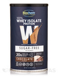 100% Whey Isolate Protein Powder (Sugar Free), Chocolate Flavor - 12.5 oz (355 Grams)