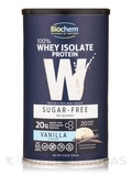 100% Whey Sugar Free Protein Powder, Vanilla Flavor - 11.8 oz (336 Grams)