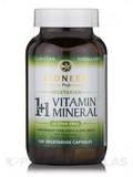 1+1 Vitamin Mineral 120 Vegetarian Capsules