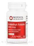 5-Methyl Folate 5,000 mcg - 50 Veg Capsules