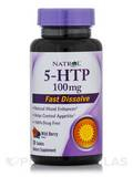 5-HTP 100 mg Fast Dissolve (Wild Berry Flavor) - 30 Tablets