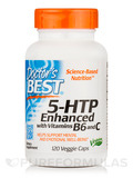 5-HTP Enhanced with Vitamins B6 & C 120 Veggie Capsules
