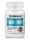60 to 90 Vitamin D-3 4000 IU -Hypoallergenic - 30 Capsules