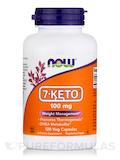 7-Keto® 100 mg - 120 Veg Capsules