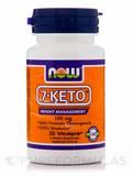 7-Keto 100 mg 30 Vegetarian Capsules