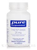 7-Keto DHEA 25 mg - 120 Capsules