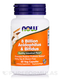 8 Billion Acidophilus & Bifidus 60 Vegetarian Capsules
