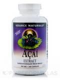 Acai Extract 500 mg - 240 Vegetarian Capsules