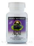 Acai Extract 500 mg - 60 Vegetarian Capsules