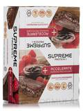 Accelerate Morning Protein Bar Chocolate Raspberry BOX OF 12 BARS