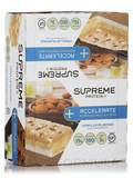 Accelerate Morning Protein Bar Vanilla Almond BOX OF 12 BARS