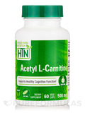 Acetyl L-Carnitine 500 mg - 60 VegeCaps