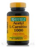 Acetyl L-Carnitine 1000 mg 30 Capsules