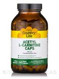 Acetyl L-Carnitine 500 mg 240 Vegetarian Capsules
