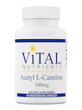 Acetyl L-Carnitine 500 mg - 60 Vegetable Capsules