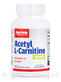 Acetyl L-Carnitine 500 mg 60 Vegetarian Capsules
