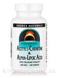 Acetyl L-Carnitine & Alpha Lipoic Acid - 120 Tablets