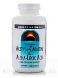 Acetyl L-Carnitine & Alpha Lipoic Acid - 240 Tablets