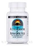 Acetyl L-Carnitine & Alpha Lipoic Acid 60 Tablets