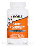 Acetyl-L Carnitine 100% Pure Powder - 3 oz (85 Grams)