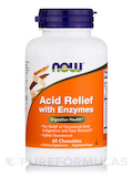 Acid Relief with Enzymes - 60 Chewables Tablets