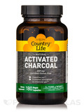 Activated Charcoal 260 mg - 180 Vegan Capsules
