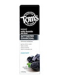 Activated Charcoal Anticavity Toothpaste, Peppermint (With Frouride) - 4.7 oz (133 Grams)