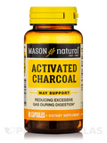 Activated Vegetable Charcoal - 60 Capsules