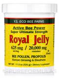 Fresh Royal Jelly, Bee Pollen, Propolis, Ginseng in Honey (20,000 mg Royal Jelly) - 11.5 oz (326 Gra