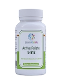Active Folate & B12 - 60 Quick Dissolve Tablets
