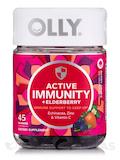 Active Immunity +Elderberry Gummies, Berry Brave Flavor - 45 Gummies