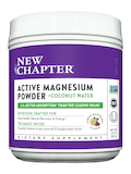 Active Magnesium Powder + Coconut Water, Natural Lemon Raspberry Flavor - 3.8 oz (109 Grams)