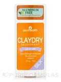 Clay Dry Silk Deodorant, Lavender - 2.5 oz (70 Grams)