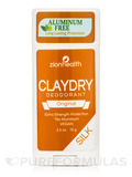 Clay Dry Silk Deodorant, Original - 2.5 oz (70 Grams)