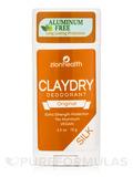 Clay Dry Silk Deodorant, Original - 2.5 oz (70 Grams)