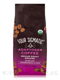 Adaptogen Coffee with Ashwagandha & Tulsi - Medium Roast Ground - Medium + Caramel Flavor - 12 oz (3