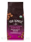 Adaptogen Coffee with Ashwagandha & Tulsi - Medium Roast Ground - Medium + Caramel Flavor - 12 oz (3