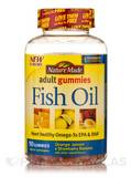 Adult Gummies Fish Oil (Orange, Lemon & Strawberry Banana with other natural flavors) - 90 Gummies