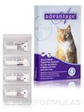 Advantage® for Cats and Kittens (8 weeks and older, over 9 lbs) - Four Tubes (0.027 fl. oz / 0.8 ml