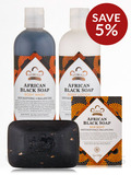 African Black Soap Bath Collection by Nubian Heritage - Save 5% on a bundle