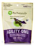 Agility DMG - 120 Chicken Liver Flavored Bone-Shaped Chews