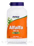 Alfalfa 650 mg - 500 Tablets