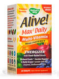 Alive!® Multi-Vitamin Max Potency (No Iron Added) - 60 Tablets