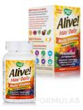Alive!® Multi-Vitamin (with Iron) - 90 Tablets
