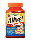 Alive!® Children's Multi-Vitamin Gummies (Assorted Flavors) - 90 Count