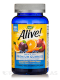 Alive!® Men's 50+ Gummy Multi-Vitamin (Assorted Flavors) - 75 Count
