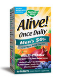 Alive!® Once Daily Men's 50+ Ultra 60 Tablets