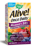Alive!® Once Daily Women's 50+ Ultra 60 Tablets