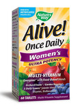 Alive!® Once Daily Women's Ultra 60 Tablets