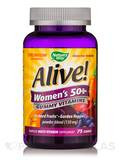 Alive!® Women's 50+ Gummy Vitamins, Assorted Flavors - 75 Gummies